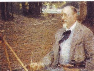 ERF a 57 anni - olio di Giacomo Balla, Villa d'Este 1902