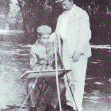 ERF con il suo allievo Adolfo Scalpelli