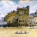 Il palazzo di Bando Aldoviti sul Tevere