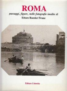 Roma paesaggi figure negli acquerelli