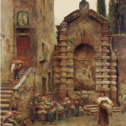 Casa dietro Villa d'Este a Tivoli