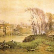 Dai Prati di Castello – Continuazione delle vecchie case fino a S. Maria in Posterula
