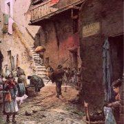 La Via delle Azimelle nel Ghetto