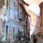 Abitazioni medioevali e casa di Giulio Romano in Via Macel dè Corvi