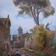 Vicolo sterrato – ora Vicolo di S. Niccolò da Tolentino