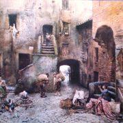 La Piazza delle Azimelle nel Ghetto