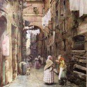 La vecchia Via dei Cappellari