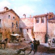 Posterula delle mura Onoriane a via Giulia