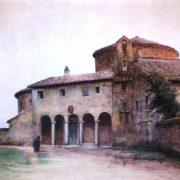 Ingresso alla Basilica di Santo Stefano Rotondo sul Celio (467)