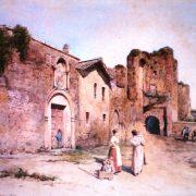 Arco di Dolabella e ingresso al Convento dei Redentoristi