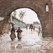 Avanzi di Arco Romano detto di S.Lazzaro alla Via della Mormorata