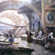I venditori del pesce al portico di Ottavia