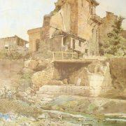 Tomba di Cajo Sulpicio Platorino scoperta nel 1880 nella Farnesina