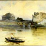 Castel S.Angelo nel 1888
