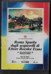 Copertina del video di Paolo Finn del 20 marzo 1988