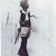 Foto di Ettore utilizzate come modelli per i suoi quadri3