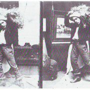 Foto di Ettore utilizzate come modelli per i suoi quadri4