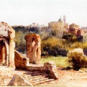 L'Aventino visto dalla Casa di Adriano