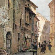La casa di Giulio Romano nei pressi di piazza Venezia