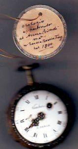 Orologio Vauchez 1 facciata