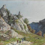 Pascolo in montagna