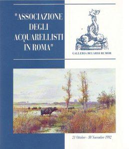 Associazione degli acquarellisti in Roma
