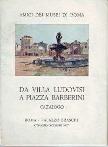 Da Villa Ludovisi a Piazza Barberini