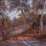Resti romani tra gli olivi
