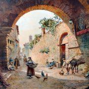 L'Arco di Sant'Anna a Tivoli, 1894