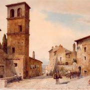 Piazza Campitelli a Tivoli, 1898
