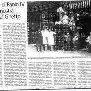 Articolo de La Stampa del 12/03/2003