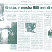 Articolo su Il Tempo del 13 marzo 2003
