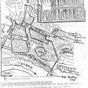 Mappa planimetrica del Ghetto di Roma
