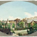 Veduta della Torre delle Milizie e del palazzo Rospigliosi