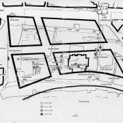 Planimetria zone Ghetto di Roma distrutte